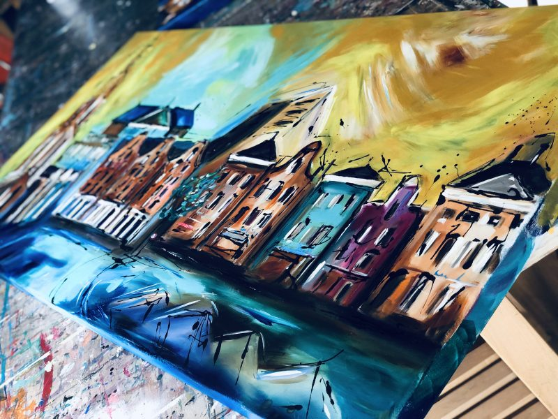 Nieuwe schilderijen nu online!